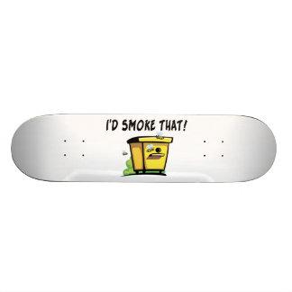 I'd Smoke That Beehive Custom Skateboard