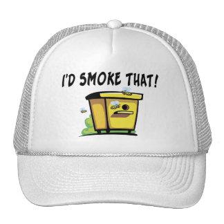 I'd Smoke That Beehive Trucker Hat