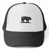 I'd Smoke That Pig Pork Bbq Barbecue Funny Trucker Hat