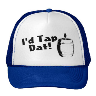 Id Tap Dat Beer Keg Trucker Hat