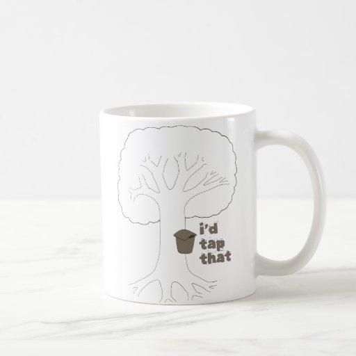 I'd Tap That Classic White Coffee Mug