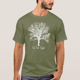 """""""I'd Tap That Maple Tree"""" White Image Top"""