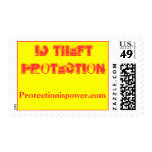 ID THEFT PROTECTION Stamp