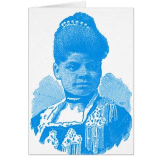 Ida B. Well Barnett Pop Art Portrait Card
