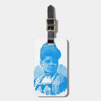 Ida B. Well Barnett Pop Art Portrait Luggage Tag