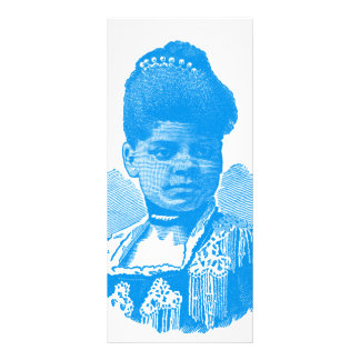 Ida B. Well Barnett Pop Art Portrait Rack Card