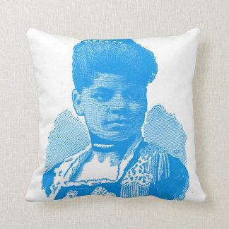 Ida B. Well Barnett Pop Art Portrait Throw Pillow