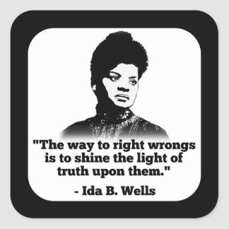 Ida B. Wells Sticker