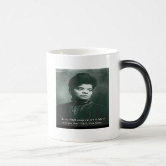 Ida B Wells & Truth Quote 11 Oz Magic Heat Color-Changing Coffee Mug