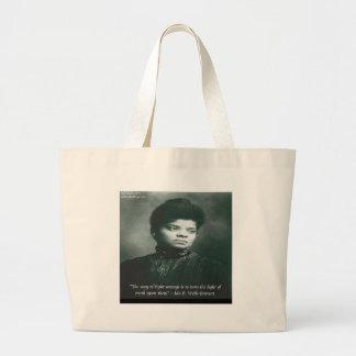 Ida B Wells & Truth Quote Bags