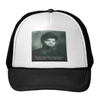 Ida B Wells & Truth Quote Mesh Hats