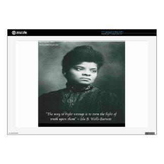 Ida B Wells & Truth Quote Laptop Decal