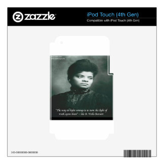 Ida B Wells & Truth Quote iPod Touch 4G Decal