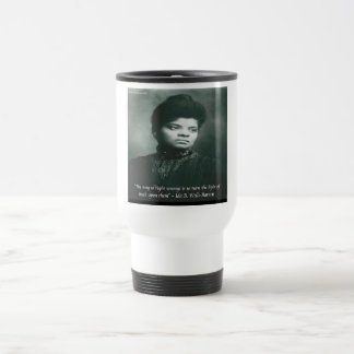 Ida B Wells & Truth Quote Travel Mug