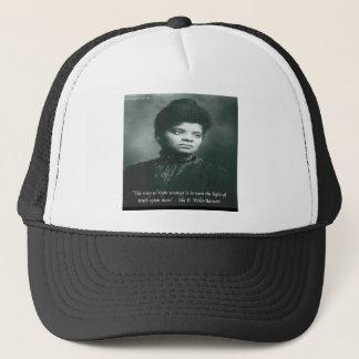 Ida B Wells & Truth Quote Trucker Hat