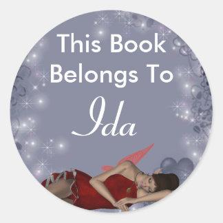 Ida Classic Round Sticker