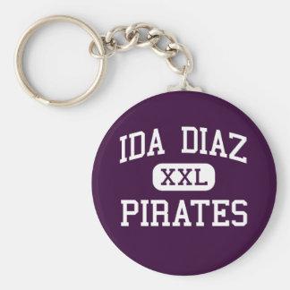 Ida Diaz - Pirates - Junior - Hidalgo Texas Keychain