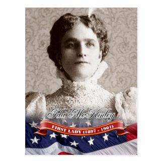 Ida McKinley First Lady of the U S Postcards