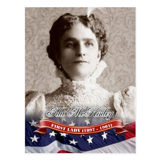 Ida McKinley, First Lady of the U.S. Postcards