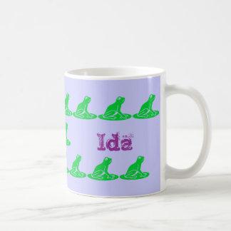 Ida Classic White Coffee Mug