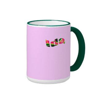 Ida ringer style coffee mug
