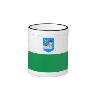 Ida-Viru Flag Ringer Coffee Mug