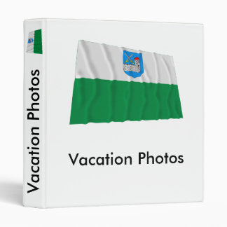 Ida-Viru Waving Flag Binder
