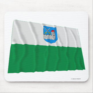 Ida-Viru Waving Flag Mouse Pad