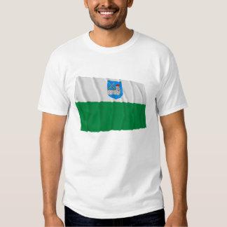 Ida-Viru Waving Flag Tee Shirt
