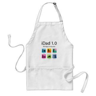 iDad 1.0 with apps Delantal