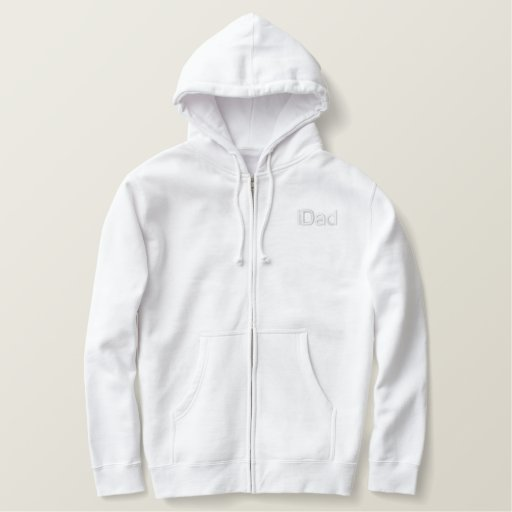 iDad - - Customized - Customized Embroidered Hoodie