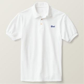 iDad embroidered polo shirt