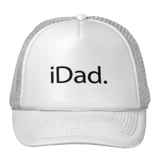 iDad. Logo (i Dad) Trucker Hat