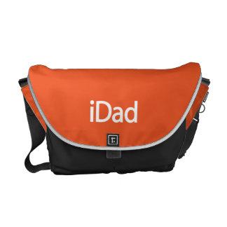 iDad Messenger Bag in Orange