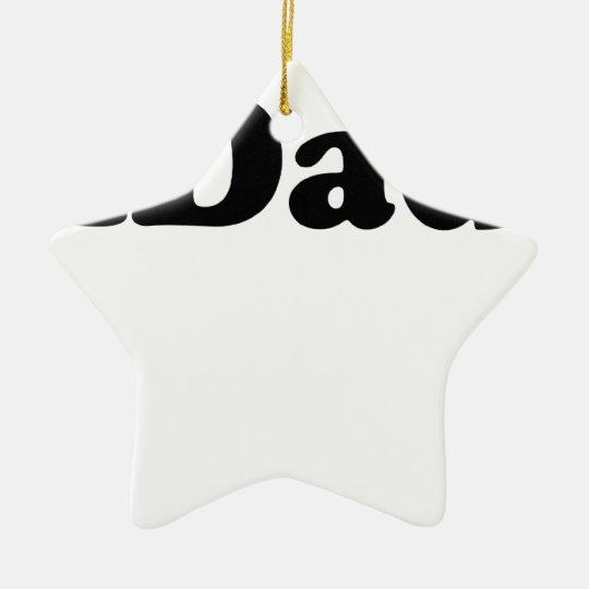 iDad T-Shirts.png Ceramic Ornament