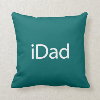 iDad Throw Pillow - Home Decor Gift for Dad
