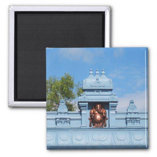 Idagunji Shree Ganesha Imán De Frigorífico