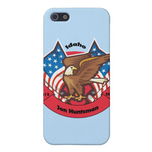 Idaho 2012 para el Huntsman de Jon iPhone 5 Carcasas
