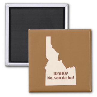 Idaho 2 Inch Square Magnet
