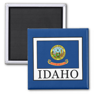 Idaho 2 Inch Square Magnet