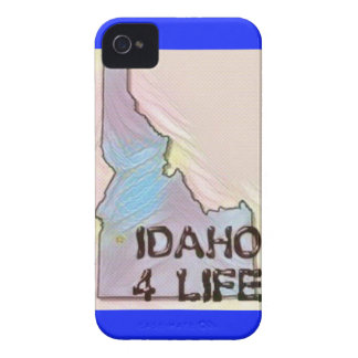 """Idaho 4 Life"" State Map Pride Design Case-Mate iPhone 4 Case"