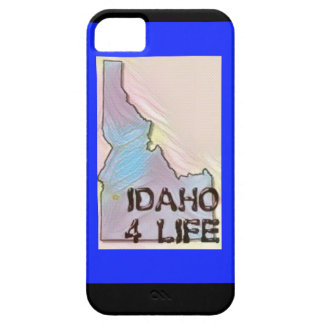 """Idaho 4 Life"" State Map Pride Design iPhone SE/5/5s Case"