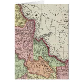 Idaho 4 tarjeta de felicitación
