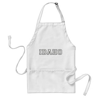 Idaho Adult Apron
