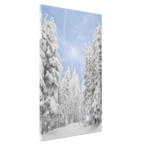 Idaho Afternoon Stretched Canvas Print