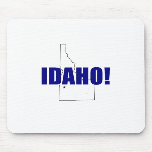¡Idaho! Alfombrillas De Ratones