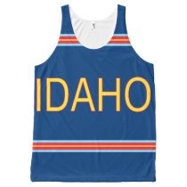 Idaho All-Over Printed Unisex Tank