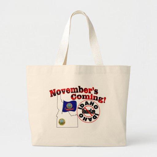 Idaho Anti ObamaCare – November's Coming! Bag