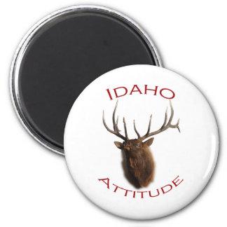Idaho Attitude 2 Inch Round Magnet
