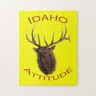 Idaho Attitude Jigsaw Puzzle